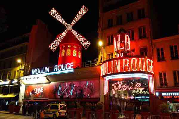 کاباره مولن روژ پاریس | Mouline rouge