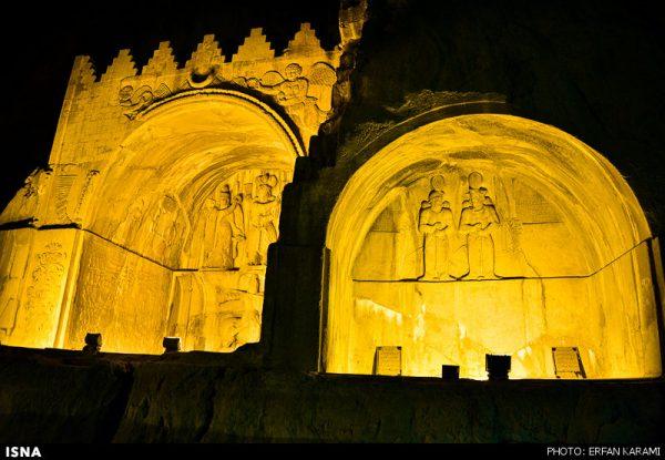 Taq-e-Bostan,طاق بستان کرمانشاه , شکوه هنر ساسانی