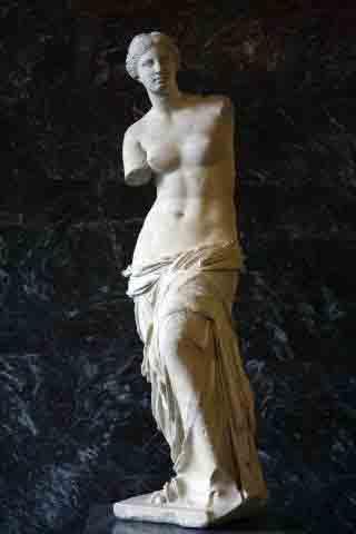 موزه لوور ,ونوس میلو , آفرودیت
