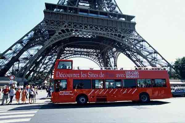 اتوبوسهای توریستی پاریس | اطلاعات گردشگری فرانسه | ترانسپورت در پاریس