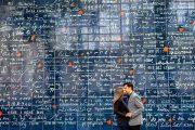 دیوار عشق در پاریس!