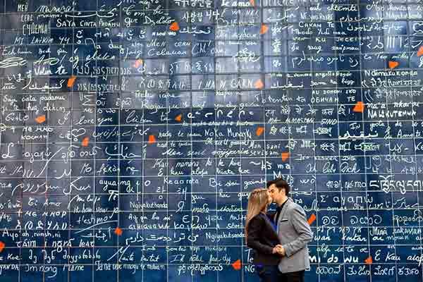 دیوار عشق در پاریس! | Le mur des je t'aime