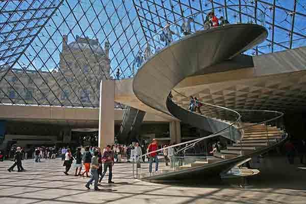 شاهکارهای موزه لوور   جاذبه های تاریخی پاریس  موزه های پاریس   موزه لوور پاریس