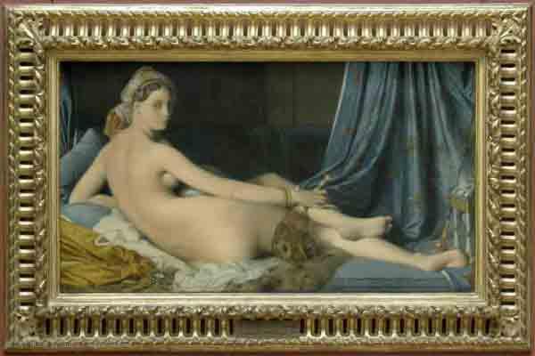 تابلو زن حرمسرا, موزه لوور