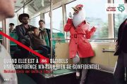 شعار مترو پاریس:«آدم» باشید!!