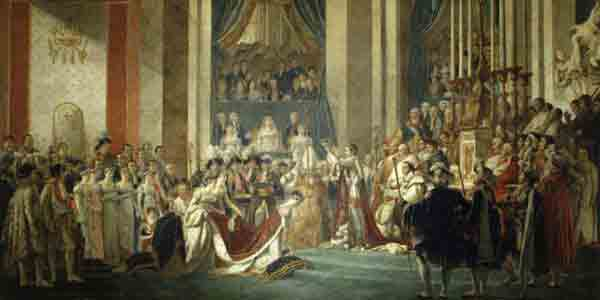 تاجگذاری ناپلئون ,مونالیزا,ژکوند,موزه لوور ,موزه,پاریس,گردشگری