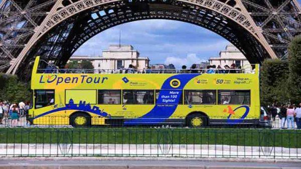 اتوبوسهای توریستی پاریس