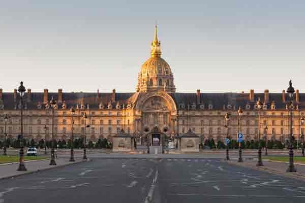هتل انولید | Les Invalides | خانه ای برای معلولان جنگی