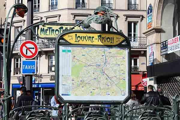 مترو پاریس؛ سفری به تاریخ فرانسه