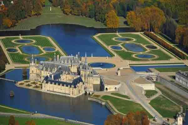 قصر شانتیلی , Chateau de Chantilly