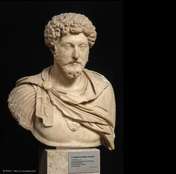 مجسمه امپراطور مارک اورل متعلق به قرن دوم میلادی