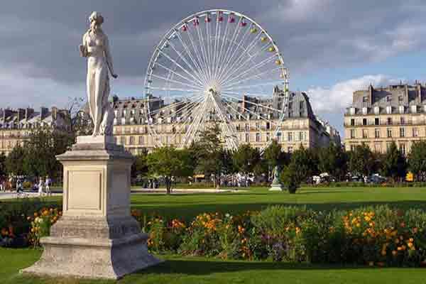 باغ تویلری Tuileries
