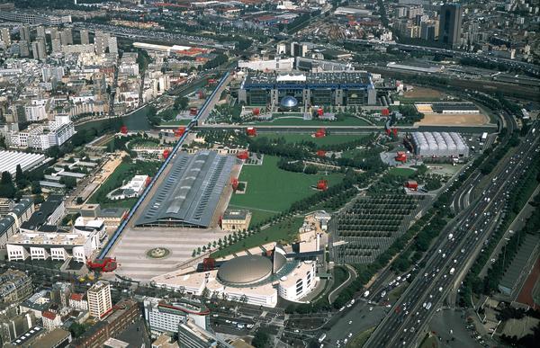 پارک لاویلت Parc de la Villette