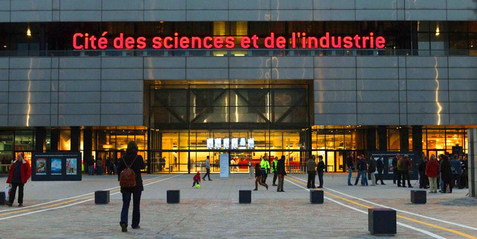 شهر علم و فناوری , LaCité des sciences et de l'industrie
