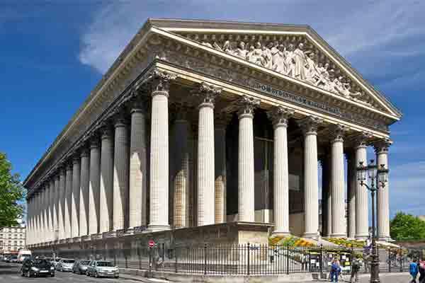 کلیسای مادلن پاریس | Eglise de la Madeleine