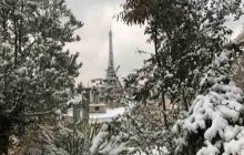 نوروز برفی در پاریس