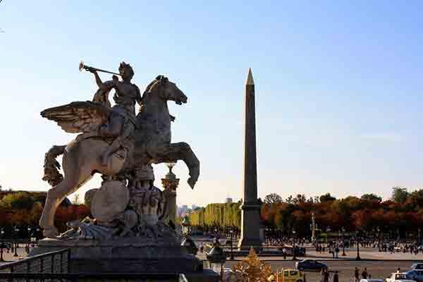 میدان کنکورد ,Place de la Concorde ,سفر به فرانسه ,پاریس,گردشگری,پاریسگردی,موزه ,لوور,,