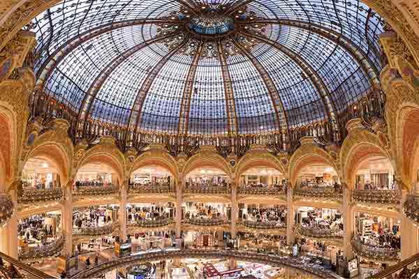 گالری لافایت پاریس | Galeries Lafayette |
