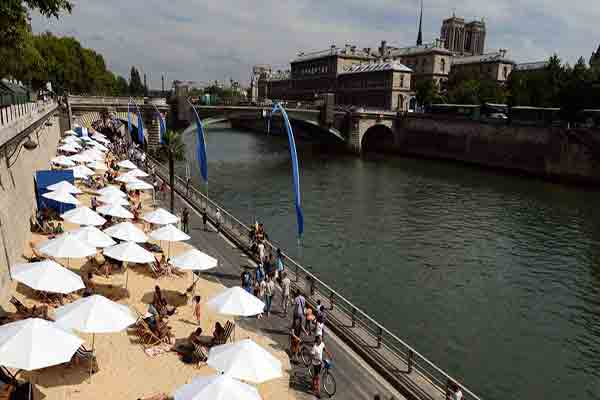 تاریخچه رود سن در پاریس