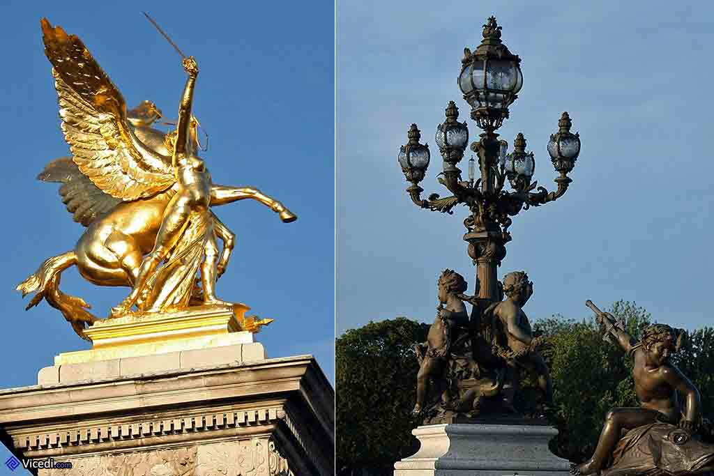 پل الکساندر سوم رود سن پاریس