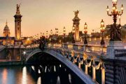 پل الکساندر سوم رود سن پاریس | Pont Alexandre III