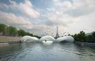 پل ترامپولین در پاریس