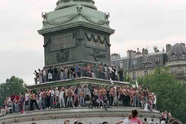 میدان باستیل پاریس , La place de la Bastille , میدان ها