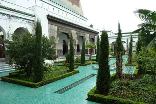 گردشگری,مسجد,پاریس,توریسم,پاریسگردی,paris,مسجد بزرگ پاریس , Grande mosquee de Paris