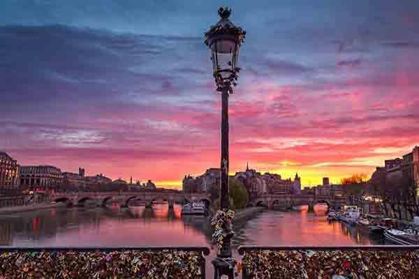 پل هنر پاریس , Pont des Arts , پل عشاق پاریس