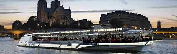 پربازدیدترین اماکن دیدنی پاریس ,کشتی کروز در رود سن