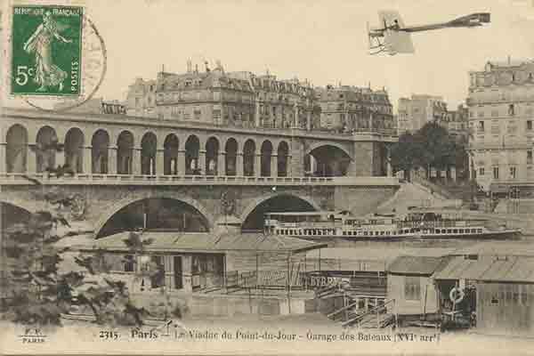پل گاریجلیانو پاریس , Pont du Garigliano , پل های رود سن, le telephone