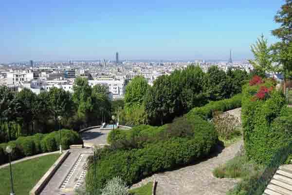 پارک بلویلپاریس | زمین بازی بلویل پاریس | مراکز تفریحی پاریس | Parc de Belleville