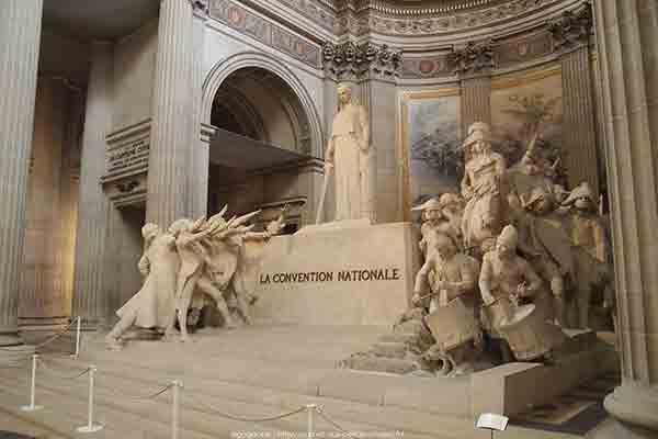 پربازدیدترین اماکن دیدنی پاریس ,پانتئون پاریس