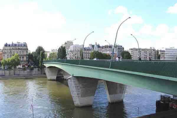پل گاریجلیانو پاریس | Pont du Garigliano | پل های رود سن