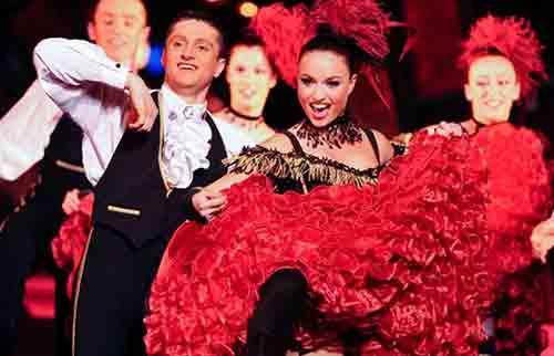 کاباره ها و کلوب های معروف پاریس ,مولن روژ پاریس,کاباره لیدو ,Le Moulin Rouge,La Nouvelle Ève,Chez Michou,Le Paradis Latin,Le Crazy Horse