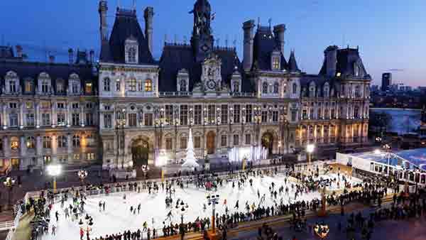 هتل دو ویل پاریس , گردشگری پاریس,راهنمای نیازمندیهای ایرانیان در پاریس ,راهنمای گردشگری ایرانیان,hotel de ville paris