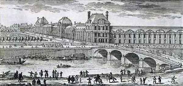 پل تویلری , پل رویال پاریس ,پل ناسیونال,پل های رود سن, پل Royal, جاذبه های گردشگری پاریس,جاذبه های توریستی فرانسه,راهنمای سفر به پاریس,راهنمای سفر به فرانسه,پل سلطنتی, پل قرمز