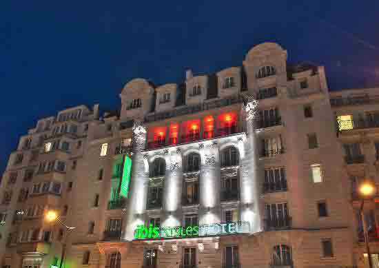 هتلهای ارزان و زنجیره ای ibis در پاریس,کم کردن هزینه ها در پاریس ,گردشگری ارزان,هتل ibis, هتل ارزان در پاریس