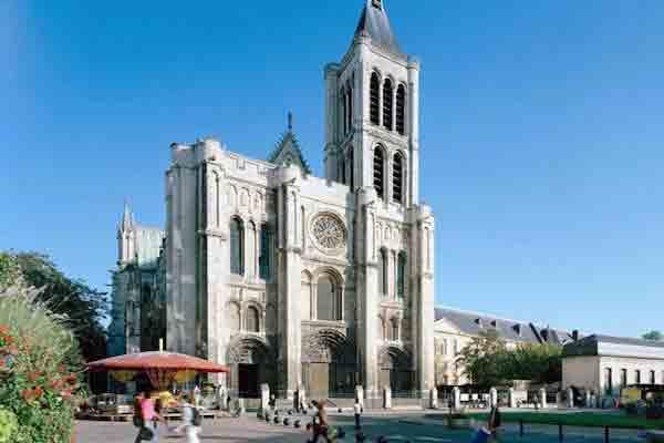 کلیسای سن دنی پاریس | باسیلیک سن دنی پاریس | آرامگاه پادشاهان فرانسه