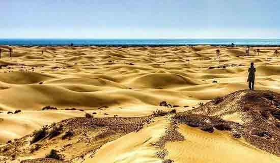 روستای دَرَک , تلاقی شگفت انگیز کویر و دریا , سیستان و بلوچستان ,DARAK , IRAN , sistan & balochistan