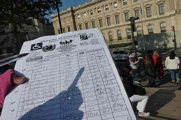 کلاهبرداری جمع آوری امضا برای خیریه در پاریس   پر کردن فرم , کلاهبرداری از توریستها
