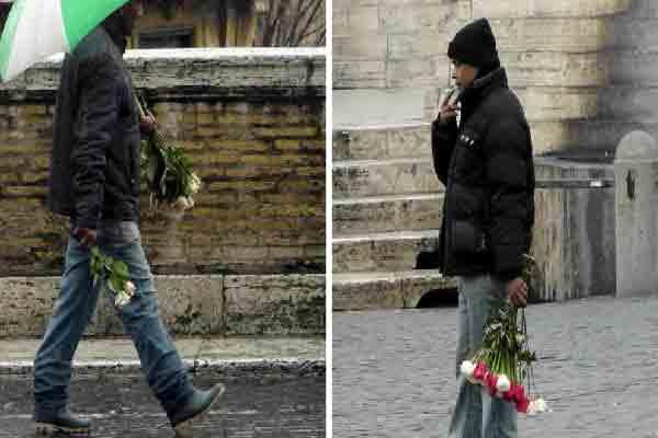 تقدیم گلی برای خانم زیبا ,کلاهبرداری از توریستها در پاریس