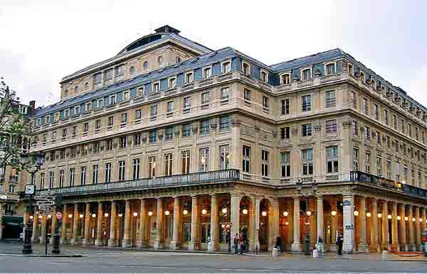 ساختمان تئاتر پله رویال پاریس