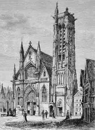 Paris eglise Saint Jacques