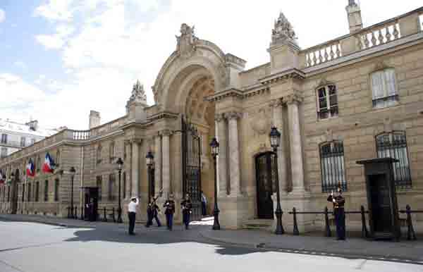 خیابان فبورگ سن انوره ,کاخ الیزه,مراکز خرید پاریس