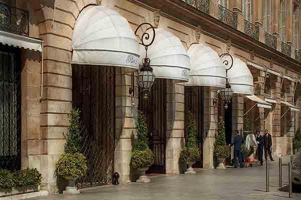 هتل ریتز پاریس | هتل افسانه ای  Ritz Paris