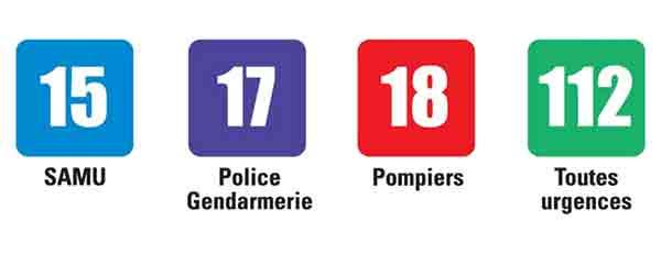 شماره های اضطراری مهم فرانسه که باید بدانید , شماره های مفید در فرانسه