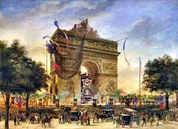 چهار طاق پیروزی در پاریس ,Arc de Triomphe du Carrousel