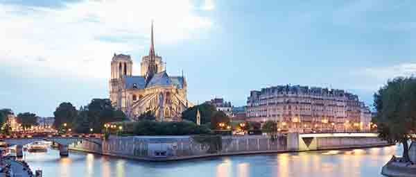 L'île de la Cité à Paris