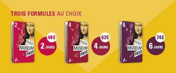 کارت گردشگری موزه پاریس